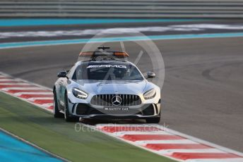 World © Octane Photographic Ltd. Formula 1 - Abu Dhabi GP - Race. Mercedes AMG GTs Safety Car. Yas Marina Circuit, Abu Dhabi, UAE. Sunday 1st December 2019.