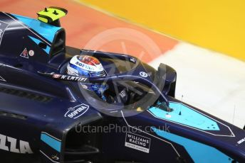 World © Octane Photographic Ltd. FIA Formula 2 (F2) – Abu Dhabi GP - Qualifying. DAMS - Nicholas Latifi. Yas Marina Circuit, Abu Dhabi, UAE. Friday 29th November 2019.