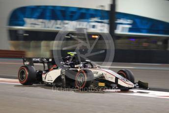 World © Octane Photographic Ltd. FIA Formula 2 (F2) – Abu Dhabi GP - Race 1. Sauber Junior Team – Matevos Isaakyan.  Yas Marina Circuit, Abu Dhabi, UAE. Saturday 30th November 2019.