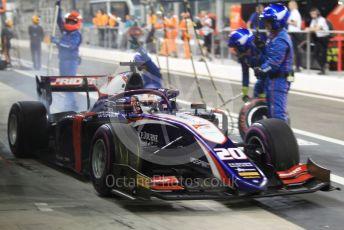 World © Octane Photographic Ltd. FIA Formula 2 (F2) – Abu Dhabi GP - Race 1. Trident - Giuliano Alesi. Yas Marina Circuit, Abu Dhabi, UAE. Saturday 30th November 2019.