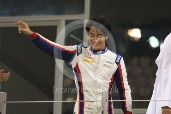 World © Octane Photographic Ltd. FIA Formula 2 (F2) – Abu Dhabi GP - Race 1. Carlin - Nobuharu Matsushita. Yas Marina Circuit, Abu Dhabi, UAE. Saturday 30th November 2019.