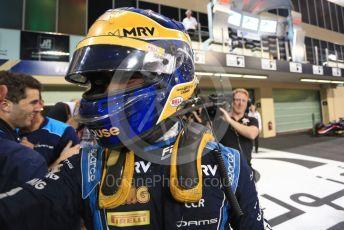 World © Octane Photographic Ltd. FIA Formula 2 (F2) – Abu Dhabi GP - Race 1. DAMS - Sergio Sette Camara. Yas Marina Circuit, Abu Dhabi, UAE. Saturday 30th November 2019.