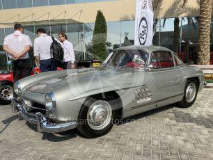 "World © Octane Photographic Ltd. Formula 1 – Abu Dhabi GP . Sotheby's auction. Mercedes-Benz 300 SL ""Gullwing"" (W 198). Yas Marina Circuit, Abu Dhabi, UAE. Saturday 30th November 2019."