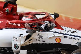 World © Octane Photographic Ltd. Formula 1 – Abu Dhabi Pirelli Tyre Test. Alfa Romeo Racing C38 – Kimi Raikkonen. Yas Marina Circuit, Abu Dhabi, UAE. Tuesday 3rd December 2019.