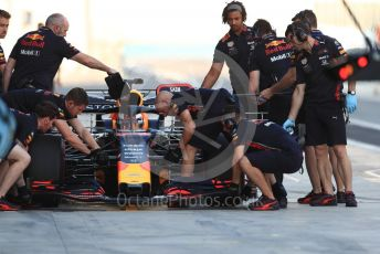 World © Octane Photographic Ltd. Formula 1 – Abu Dhabi Pirelli Tyre Test. Aston Martin Red Bull Racing RB15 – Max Verstappen. Yas Marina Circuit, Abu Dhabi, UAE. Tuesday 3rd December 2019.