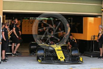 World © Octane Photographic Ltd. Formula 1 – Abu Dhabi Pirelli Tyre Test. Renault Sport F1 Team RS19 – Esteban Ocon. Yas Marina Circuit, Abu Dhabi, UAE. Tuesday 3rd December 2019.