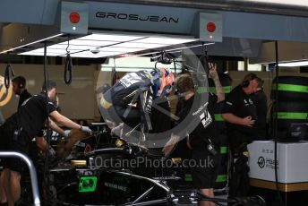 World © Octane Photographic Ltd. Formula 1 – Abu Dhabi Pirelli Tyre Test. Haas F1 Team VF19 – Romain Grosjean. Yas Marina Circuit, Abu Dhabi, UAE. Tuesday 3rd December 2019.