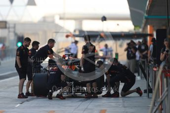 World © Octane Photographic Ltd. Formula 1 – Abu Dhabi Pirelli Tyre Test. Aston Martin Red Bull Racing RB15 – Alexander Albon. Yas Marina Circuit, Abu Dhabi, UAE. Wednesday 4th December 2019.