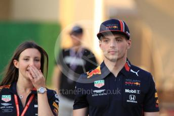 World © Octane Photographic Ltd. Formula 1 – Abu Dhabi GP - Paddock. Aston Martin Red Bull Racing RB15 – Max Verstappen. Yas Marina Circuit, Abu Dhabi, UAE. Thursday 28th November 2019.