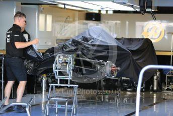 World © Octane Photographic Ltd. Formula 1 – Abu Dhabi GP - Setup. Haas F1 Team VF19 – Romain Grosjean. Yas Marina Circuit, Abu Dhabi, UAE. Thursday 28th November 2019.