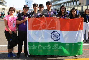 World © Octane Photographic Ltd. Formula 1 in Schools– Abu Dhabi GP . India. Yas Marina Circuit, Abu Dhabi, UAE. Thursday 28th November 2019.