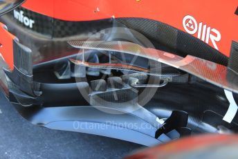 World © Octane Photographic Ltd. Formula 1 – Abu Dhabi GP - Scrutineering. Scuderia Ferrari SF90 – Charles Leclerc. Yas Marina Circuit, Abu Dhabi, UAE. Thursday 28th November 2019.