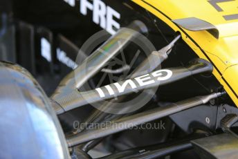 World © Octane Photographic Ltd. Formula 1 – Abu Dhabi GP - Scrutineering. Renault Sport F1 Team RS19 – Nico Hulkenberg. Yas Marina Circuit, Abu Dhabi, UAE. Thursday 28th November 2019.