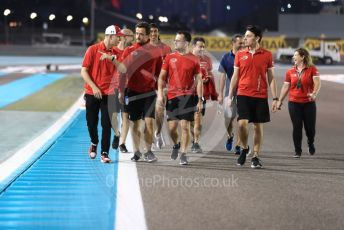 World © Octane Photographic Ltd. Formula 2 (F2) – Abu Dhabi GP - Track Walk. Prema Powerteam - Mick Schumacher and Sean Galeal. Yas Marina Circuit, Abu Dhabi, UAE. Thursday 28th November 2019.