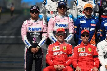 World © Octane Photographic Ltd. Formula 1 – Australian GP Class of 2019. SportPesa Racing Point RP19 - Sergio Perez and Lance Stroll, McLaren – Carlos Sainz and Scuderia Ferrari – Charles Leclerc and Sebastian Vettel. Melbourne, Australia. Sunday 17th March 2019.