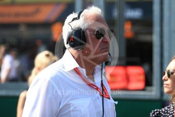 World © Octane Photographic Ltd. Formula 1 - Australian GP - Grid. Lance Stroll father Lawrence Stroll - investor, part-owner of SportPesa Racing Point. Albert Park, Melbourne, Australia. Sunday 17th March 2019