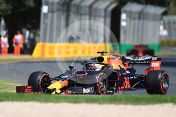 World © Octane Photographic Ltd. Formula 1 – Australian GP Practice 1. Aston Martin Red Bull Racing RB15 – Max Verstappen. Friday 15th Melbourne, Australia. Friday 15th March 2019.