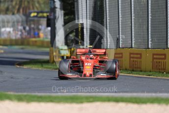World © Octane Photographic Ltd. Formula 1 – Australian GP Practice 1. Scuderia Ferrari SF90 – Charles Leclerc. Friday 15th Melbourne, Australia. Friday 15th March 2019.