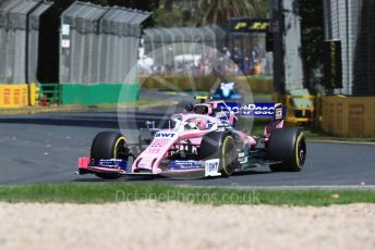 World © Octane Photographic Ltd. Formula 1 – Australian GP Practice 1. SportPesa Racing Point RP19 – Lance Stroll. Friday 15th Melbourne, Australia. Friday 15th March 2019.