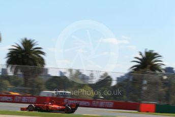 World © Octane Photographic Ltd. Formula 1 – Australian GP Practice 1. Scuderia Ferrari SF90 – Charles Leclerc. Friday 15th Melbourne, Australia. Friday 15th March 2019.