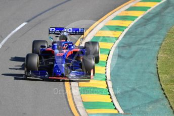 World © Octane Photographic Ltd. Formula 1 – Australian GP Practice 2. Scuderia Toro Rosso STR14 – Daniil Kvyat. Friday 15th Melbourne, Australia. Friday 15th March 2019.