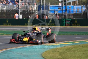 World © Octane Photographic Ltd. Formula 1 – Australian GP Practice 2. Aston Martin Red Bull Racing RB15 – Pierre Gasly. Friday 15th Melbourne, Australia. Friday 15th March 2019.