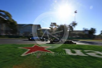 World © Octane Photographic Ltd. Formula 1 – Australian GP Practice 2. Renault Sport F1 Team RS19 – Daniel Ricciardo and ROKiT Williams Racing – Robert Kubica. Friday 15th Melbourne, Australia. Friday 15th March 2019.