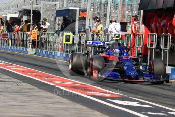 World © Octane Photographic Ltd. Formula 1 – Australian GP Practice 3. Scuderia Toro Rosso STR14 – Alexander Albon. Saturday 16th Melbourne, Australia. Saturday 16th March 2019.