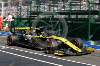 World © Octane Photographic Ltd. Formula 1 – Australian GP Practice 3. Renault Sport F1 Team RS19 – Nico Hulkenberg. Saturday 16th Melbourne, Australia. Saturday 16th March 2019.