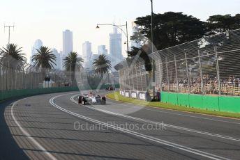 World © Octane Photographic Ltd. Formula 1 – Australian GP Qualifying. Alfa Romeo F1 Team C38 – Antonio Giovinazzi.  Melbourne, Australia. Saturday 16th March 2019.
