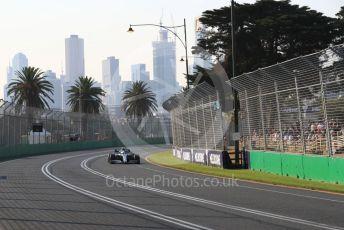 World © Octane Photographic Ltd. Formula 1 – Australian GP Qualifying. Mercedes AMG Petronas Motorsport AMG F1 W10 EQ Power+ - Valtteri Bottas. Melbourne, Australia. Saturday 16th March 2019.