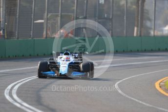 World © Octane Photographic Ltd. Formula 1 – Australian GP Qualifying. ROKiT Williams Racing – George Russell. Melbourne, Australia. Saturday 16th March 2019.