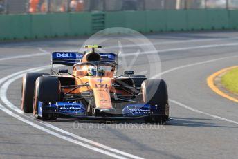 World © Octane Photographic Ltd. Formula 1 – Australian GP Qualifying. McLaren MCL34 – Lando Norris. Melbourne, Australia. Saturday 16th March 2019.