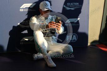World © Octane Photographic Ltd. Formula 1 – Australian GP Qualifying. Mercedes AMG Petronas Motorsport AMG F1 W10 EQ Power+ - Lewis Hamilton. Melbourne, Australia. Saturday 16th March 2019.