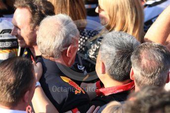 World © Octane Photographic Ltd. Formula 1 - Australian GP - Parc Ferme. Helmut Marko - advisor to the Red Bull GmbH Formula One Teams and head of Red Bull's driver development program. Albert Park, Melbourne, Australia. Sunday 17th March 2019