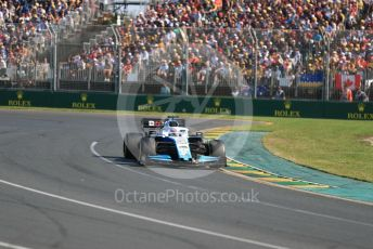 World © Octane Photographic Ltd. Formula 1 – Australian GP Race. ROKiT Williams Racing FW42 – George Russell. Melbourne, Australia. Sunday 17th March 2019.
