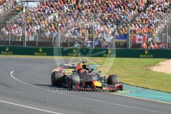 World © Octane Photographic Ltd. Formula 1 – Australian GP Race. Aston Martin Red Bull Racing RB15 – Max Verstappen. Melbourne, Australia. Sunday 17th March 2019.