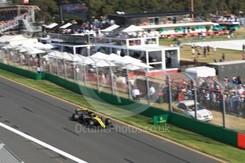World © Octane Photographic Ltd. Formula 1 – Australian GP Race. Renault Sport F1 Team RS19 – Nico Hulkenberg. Melbourne, Australia. Sunday 17th March 2019.