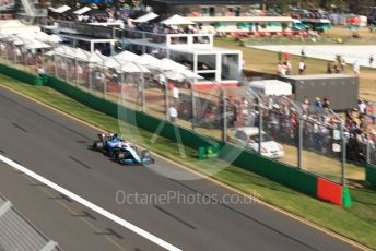 World © Octane Photographic Ltd. Formula 1 – Australian GP Race. ROKiT Williams Racing FW42 – Robert Kubica. Melbourne, Australia. Sunday 17th March 2019.