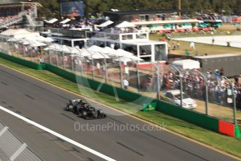 World © Octane Photographic Ltd. Formula 1 – Australian GP Race. Rich Energy Haas F1 Team VF19 – Kevin Magnussen. Melbourne, Australia. Sunday 17th March 2019.