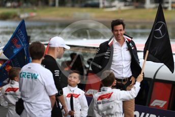 World © Octane Photographic Ltd. Formula 1 - Australian GP - Wednesday - F1 Season Launch. Toto Wolff - Executive Director & Head of Mercedes - Benz Motorsport. Albert Park, Melbourne, Australia. Wednesday 13th March 2019