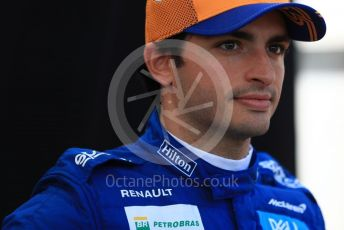 World © Octane Photographic Ltd. Formula 1 – Australian GP FIA Driver photo call. McLaren MCL34 – Carlos Sainz. Thursday 14th Melbourne, Australia. Thursday 14th March 2019.
