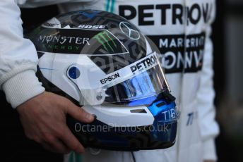 World © Octane Photographic Ltd. Formula 1 – Australian GP FIA Driver photo call. Mercedes AMG Petronas Motorsport AMG F1 W10 EQ Power+ - Valtteri Bottas. Thursday 14th Melbourne, Australia. Thursday 14th March 2019.