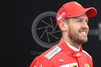 World © Octane Photographic Ltd. Formula 1 – Australian GP FIA Driver photo call. Scuderia Ferrari SF90 – Sebastian Vettel. Thursday 14th Melbourne, Australia. Thursday 14th March 2019.