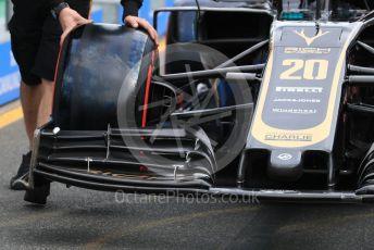 World © Octane Photographic Ltd. Formula 1 – Australian GP Pitlane. Rich Energy Haas F1 Team VF19 – Kevin Magnussen. Friday 15th Melbourne, Australia. Friday 15th March 2019.