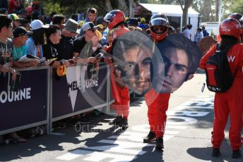 World © Octane Photographic Ltd. Formula 1 - Australian GP - Wednesday - Paddock. Melbourne Walk crew. Albert Park, Melbourne, Australia. Saturday 16th March 2019
