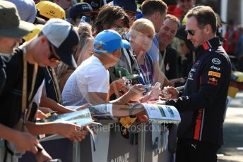 World © Octane Photographic Ltd. Formula 1 - Australian GP - Wednesday - Paddock. Christian Horner - Team Principal of Red Bull Racing. Albert Park, Melbourne, Australia. Saturday 16th March 2019