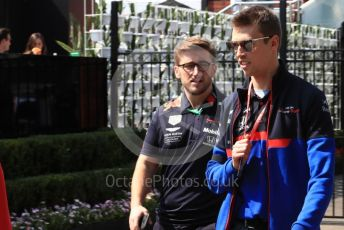 World © Octane Photographic Ltd. Formula 1 – Australian GP Paddock. Scuderia Toro Rosso STR14 – Daniil Kvyat. Saturday 16th Melbourne, Australia. Saturday 16th March 2019.