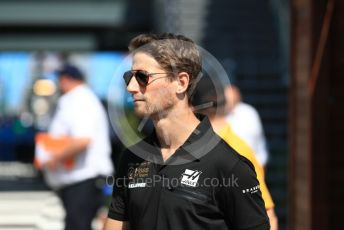 World © Octane Photographic Ltd. Formula 1 – Australian GP Paddock. Rich Energy Haas F1 Team VF19 – Romain Grosjean. Melbourne, Australia. Sunday 17th March 2019.