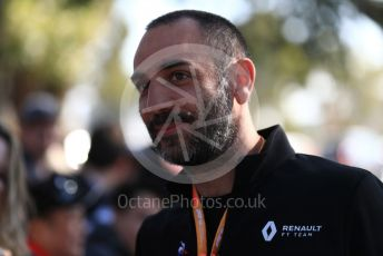 World © Octane Photographic Ltd. Formula 1 - Australian GP - Wednesday. Cyril Abiteboul - Managing Director of Renault Sport Racing Formula 1 Team. Albert Park, Melbourne, Australia. Thursday 14th March 2019